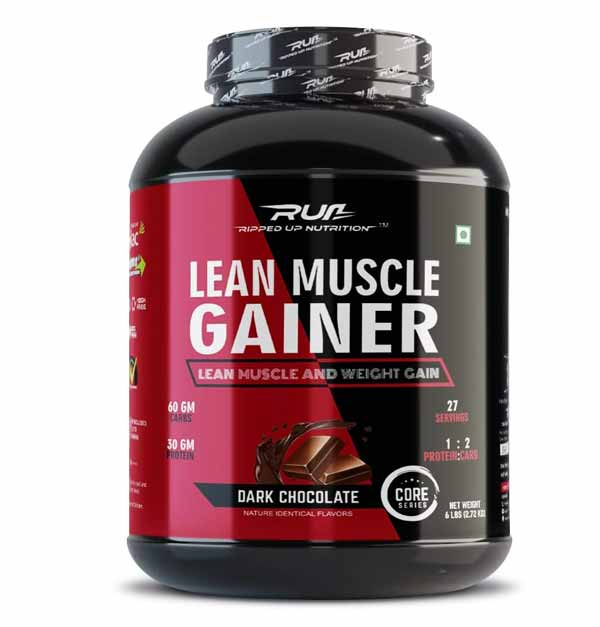 Ripped Up Nutrition Lean Muscle Gainer